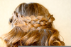 Pancake Braid Hairstyle Image