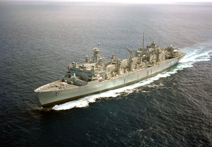 Uss Rainier (aoe 7) Underway. Image