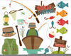 Free Fishing Pole Clipart Image