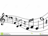 Free Musical Staff Clipart Image