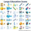 Large Education Icons Image