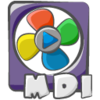 Filetype Movie Mdi Icon Image