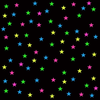 Tink Colorful Stars Image