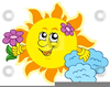 Cartoon Clipart Flowers Image