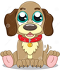 Cute Cartoon Puppy Image