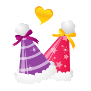 Christmas Hats Icon Image