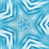 Bright Blue Stars Design Image