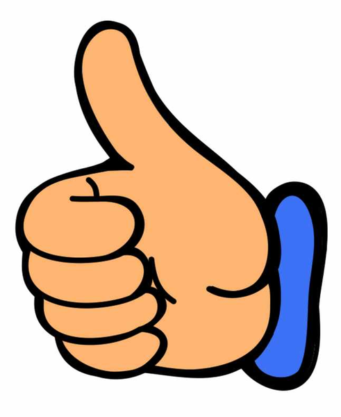 thumbs up thumb clip art at vector free images at clker com rh clker com thumbs up clip art free thumbs up clip art images