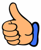 Thumbs Up Thumb Clip Art At Vector Image