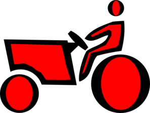 Red Tractor Clip Art