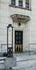 Entrance To The Administration Building At The National Naval Medical Center In Bethesda, Maryland. Image