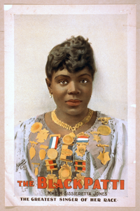 The Black Patti, Mme. M. Sissieretta Jones The Greatest Singer Of Her Race. Image