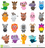 Cute Jungle Animal Clipart Image