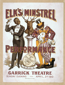 Elk S Minstrel Performance Given By Chicago Lodge No. 4, B.p.o.e. Image