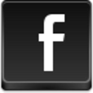 Free Black Button Facebook Image