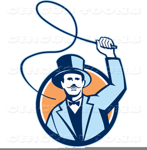 Crack The Whip Clipart Image