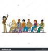 Teacher In A Classroom Clipart Image