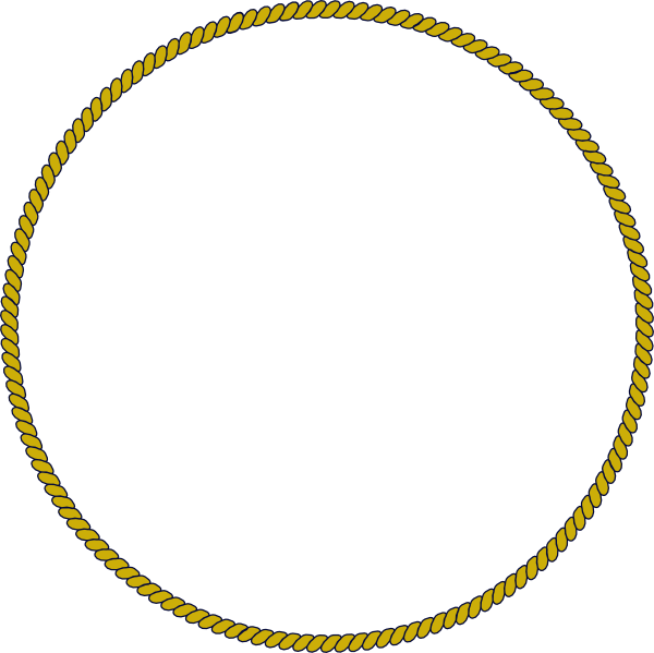 clipart rope border circle - photo #4
