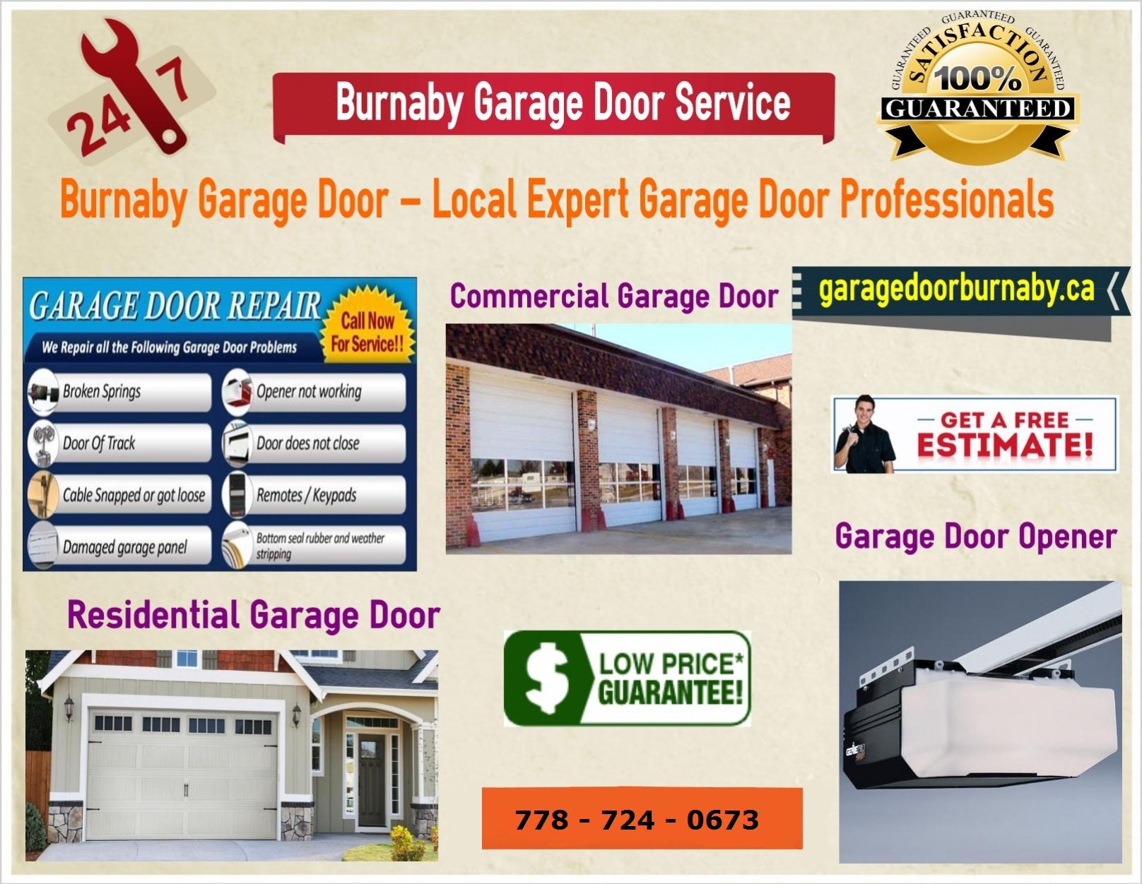 Garage door repair burnaby free images at clker