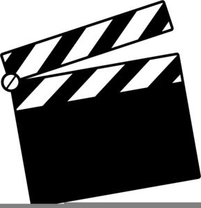 clapper board clipart free images at clker com vector clip art