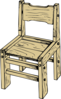 Big Chair Goldi Clip Art