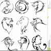 Free Clipart Of Lion Heads Image