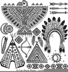Large Boy Native American Clip Art - Indian Clipart - Free Transparent PNG Clipart  Images Download