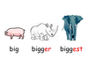 Comparative Adjectives Clipart Image