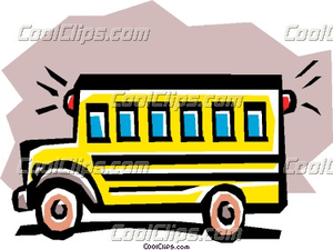 School Bus Coolclips Tran Image