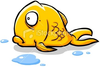 Stock Illustration Goldfish Out Of Water Image