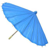 Blue Paper Umbrella Image