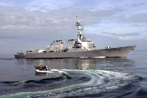 Ddg 81 At Sea Image