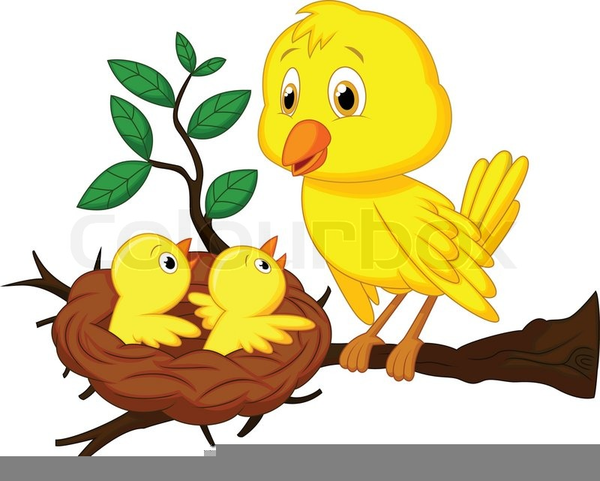 Mom And Baby Bird Clipart | Free Images at Clker.com ...