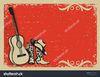 Country Western Christmas Clipart Image