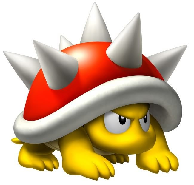 Super Mario Spiny Spike | Free Images at...