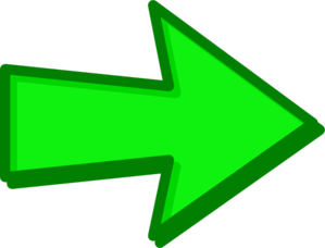 Green Arrow Green Clip Art