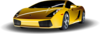 Yellow Sports Car Clip Art