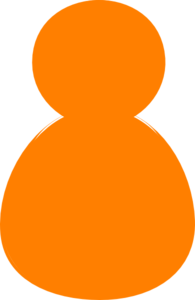 Orange Man Gook Clip Art