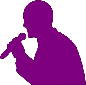 Singing Man Clip Art