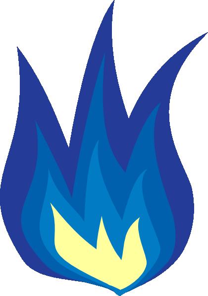 Blue Flame Clip Art at Clker.com - vector clip art online ...