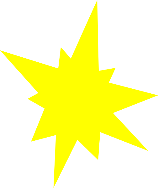 yellow starburst clipart - photo #16