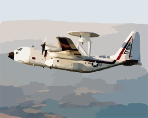 An Nc-130h Provides An In-flight Test Bed For A Radar Modernization Program (rmp) Clip Art