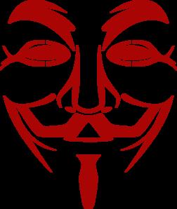 V Guy Fawkes Mask Line Art Clip Art At Clker Com Vector Clip Art