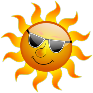 Summer Smile Sun Clip Art