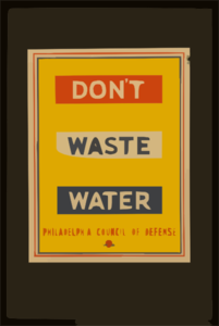 Don T Waste Water Clip Art