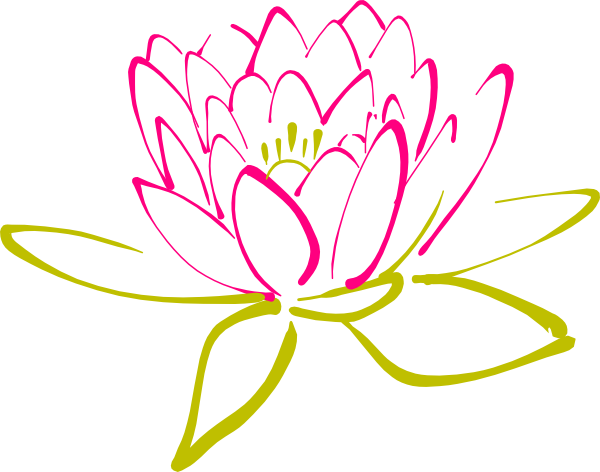 Abstract lotus clip art at clker vector clip art online download this image as mightylinksfo