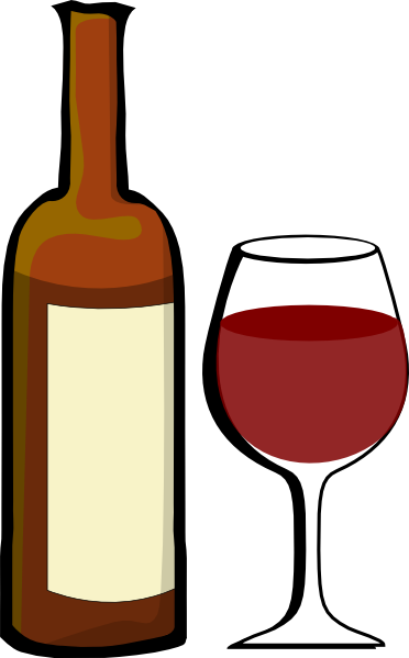 clipart glass of wine - photo #12