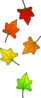 Leaves Falling Clip Art