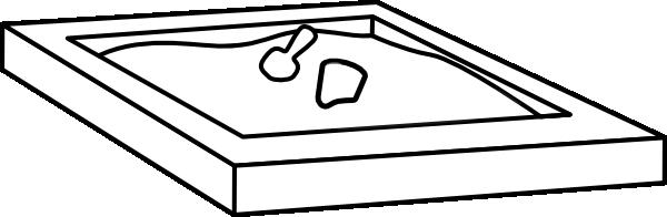 sandbox white clip art at vector clip art online royalty free public domain. Black Bedroom Furniture Sets. Home Design Ideas