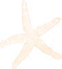 Sandy Starfish Clip Art